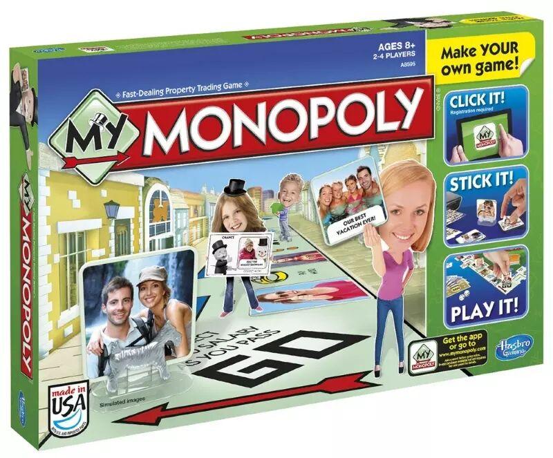 Brettspill My Monopoly (164-5010994818951)