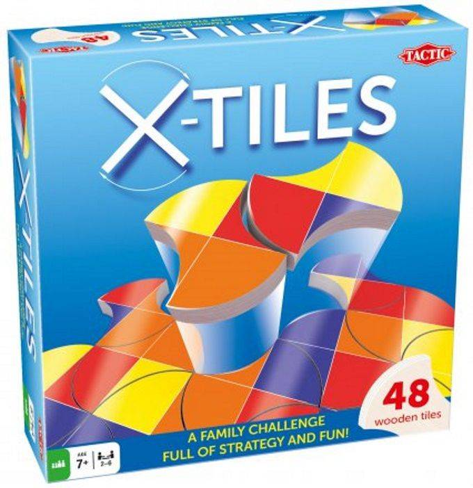 Tactic Brettspill med fargebrikker, X-Tiles (386-53689)