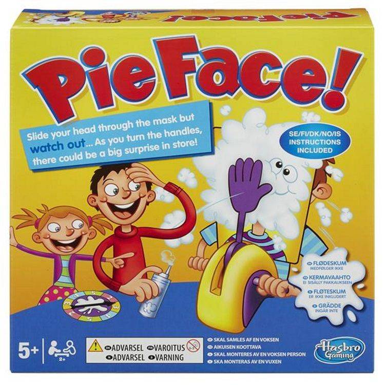 Hasbro Pie Face! - Brettspill (351-5851098)