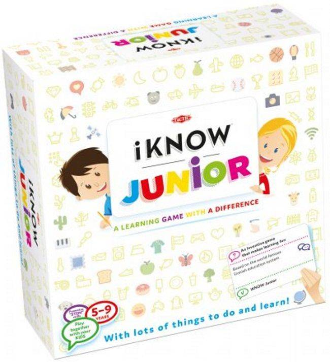 Tactic Brettspill - iKnow Junior (386-54429)