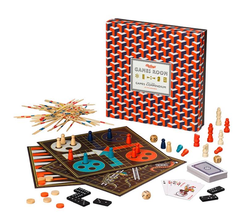 Games Room Spillsamling (10 spill) (470-WAWGR33)