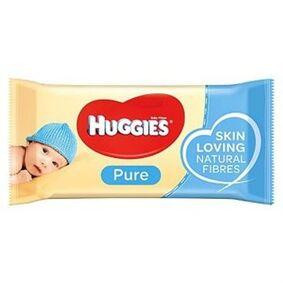 Pure Huggies Pure Wet Wipes Vådservietter - 56 stk.