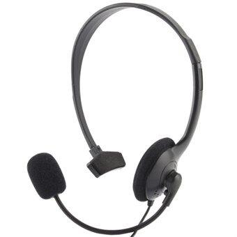 Gaming Headset w / enkelt øret og mikrofon. for PS4