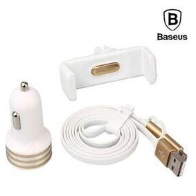 Beam Baseus 4in1 Micro / Lighning Kit - Gull