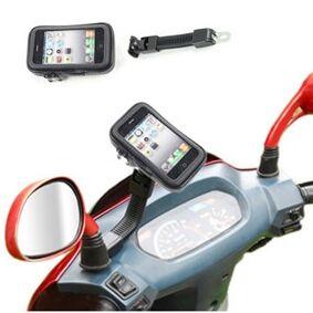 Beam Sidespeil Smartphone Holder for Moped /Scooter /Motorsykkel - Vannavstøtende