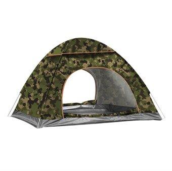 Pop-up Telt vannavstøtende 200 X 200 cm - Camouflage Military Limited Edition 2019