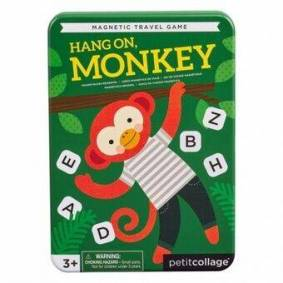 Rejsespil Hang On Monkey Magnetic Travel Game