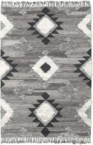 RugVista Inka - Svart / White  teppe 200x300 Moderne Teppe