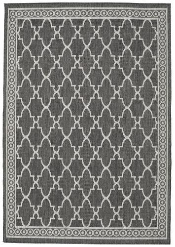 RugVista Florence - Mørk grå / Lys Grå  teppe 200x300 Orientalsk Teppe