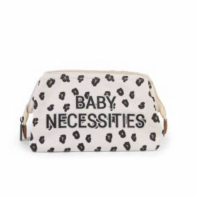 Childhome Baby Necessities Bag, Leopard Canvas