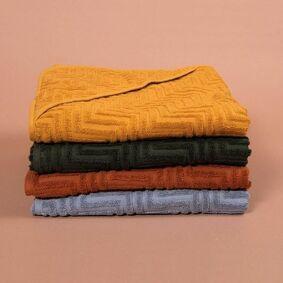 Filibabba Badehåndkle - Zigzag Rust
