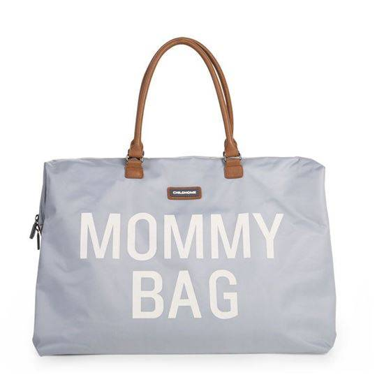Childhome Mommy bag, Gr/Offwhite