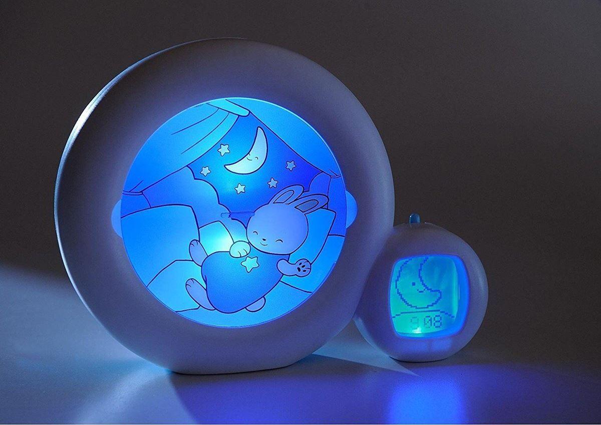 KidSleep Moon: Klokke, Svntrener, Vekkerklokke og Uro