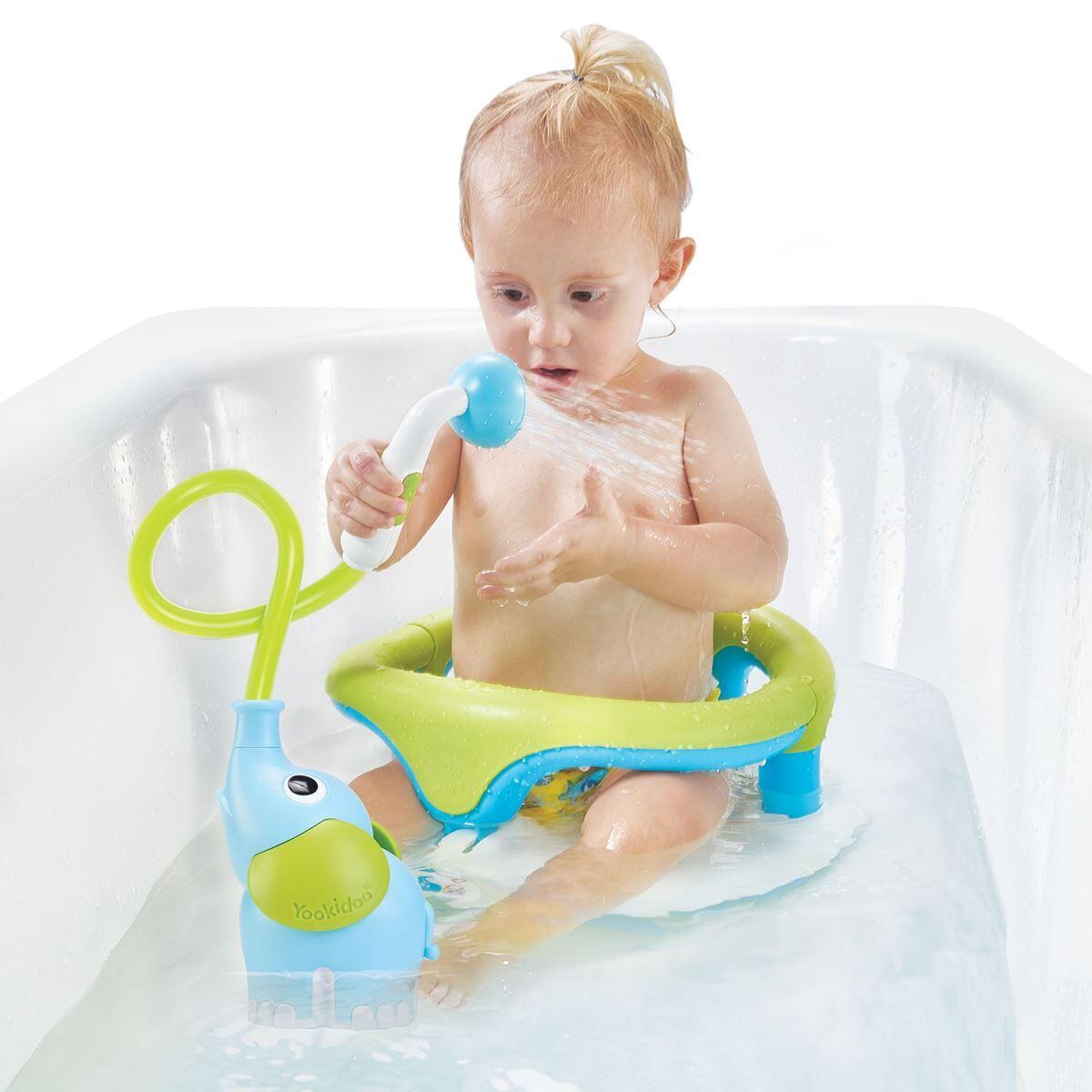 Yookidoo Badeleke, Elephant Baby Shower - Blue