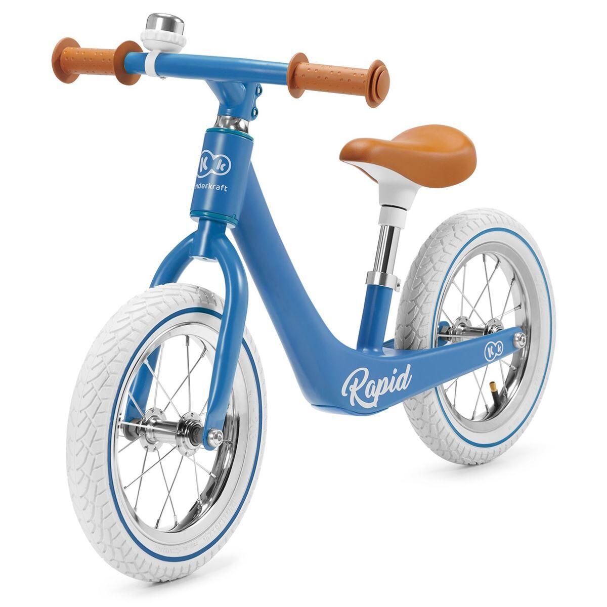 Kinderkraft Balansesykkel, Rapid Blue