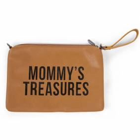 Childhome Mommy Bag Clutch, Imitert skinn