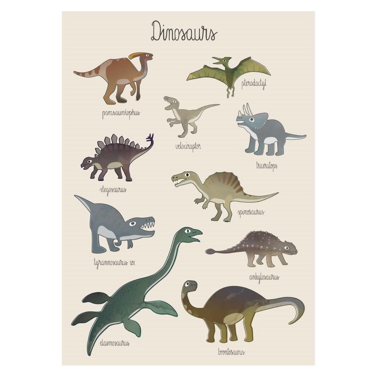 Sebra Plakat, Dino