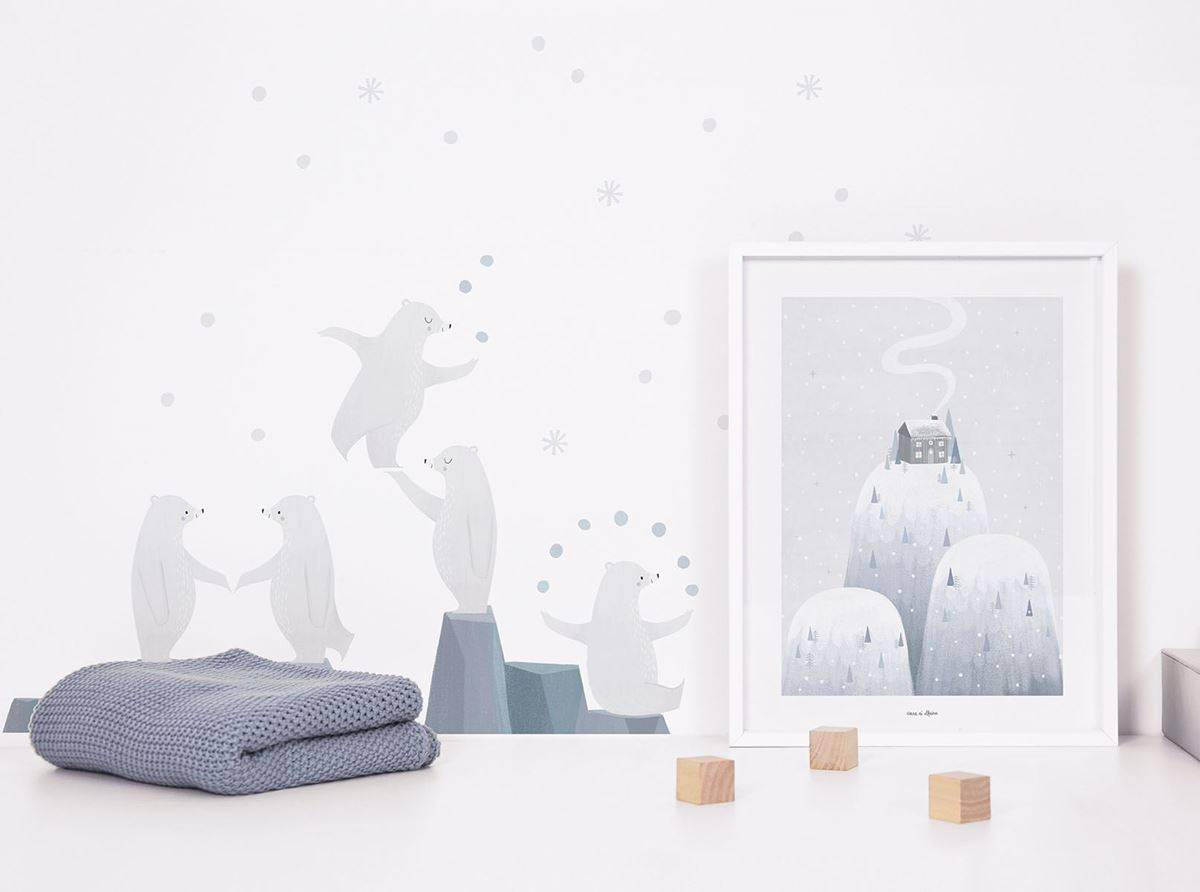 Lilipinso Arctic - Poster (Art Print)
