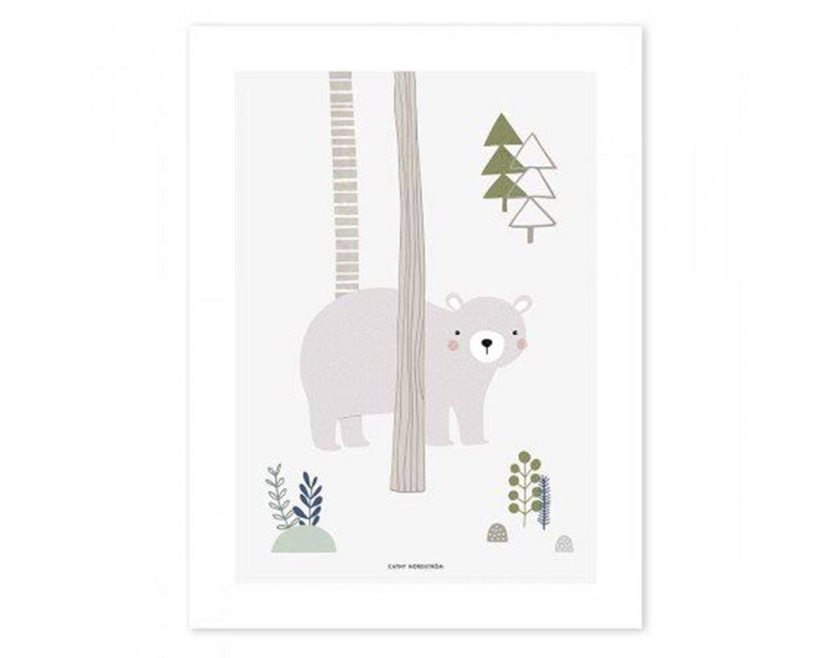 Lilipinso In The Woods - Poster (Art Print) Bjørn