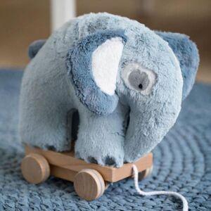 Sebra Heklet Trekkdyr, Elefant, Cloud Blue