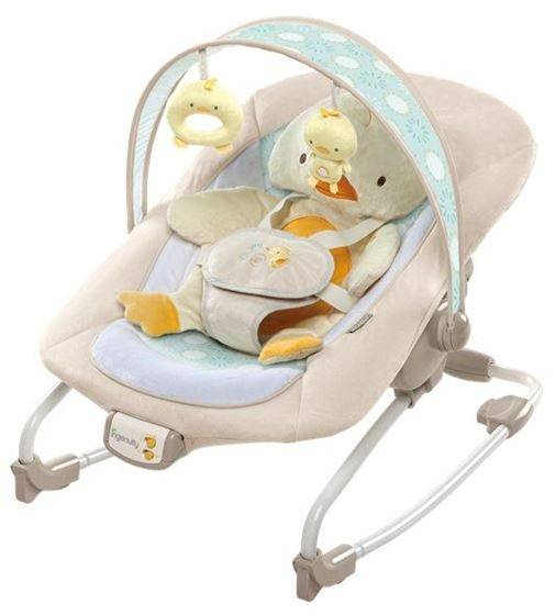 Brightstarts Bright Starts Cuddles & Quacks Rocker