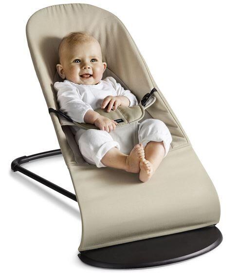 BabyBjrn Balance Soft, Khaki/Beige Bomull