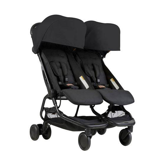 Mountain Buggy Nano Duo, Sort