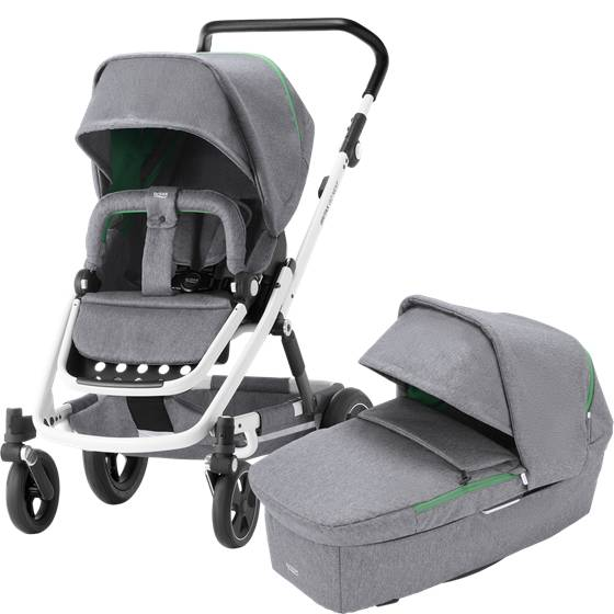 Britax GO Next2 White, Dynamic Grey