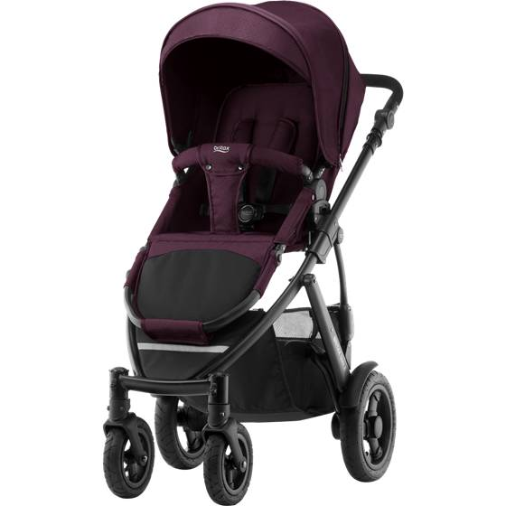 Britax Smile 2 Duovogn, Wine Red Denim