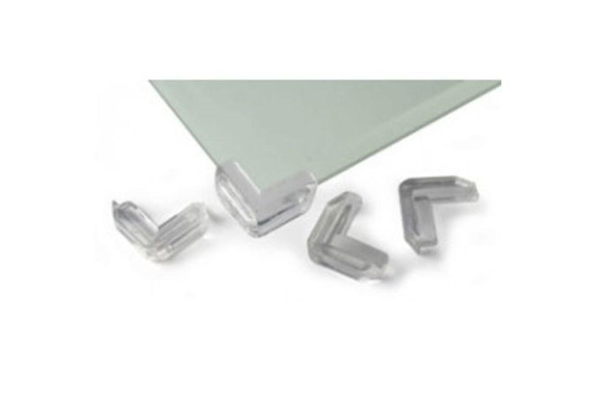 Reer Hjørnebeskyttere til glassbord