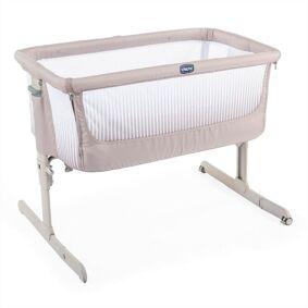 Chicco Next2Me Air, Bedside Crib, Mørk Beige