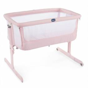 Chicco Next2Me Air, Bedside Crib, Paradise Pink