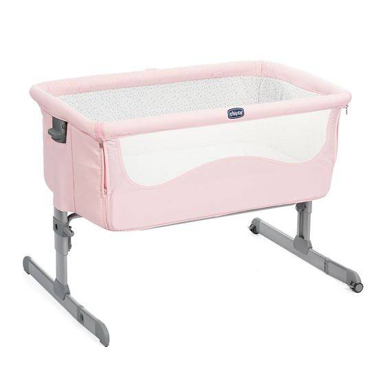 Chicco Next2Me Bedside Crib, French Rose