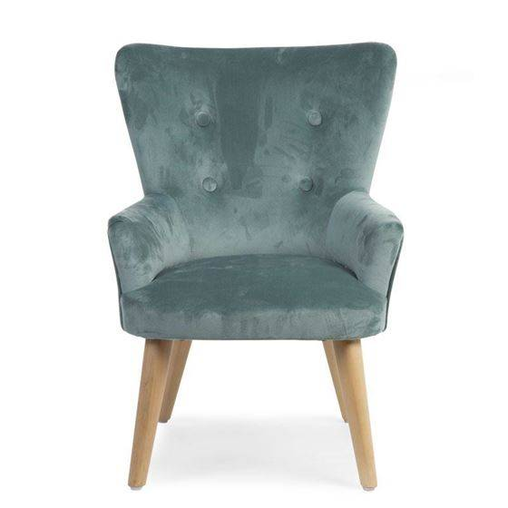 Childhome Barnestol, Grnn Velour