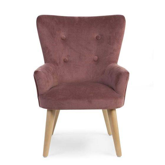 Childhome Barnestol, Rosa Velour