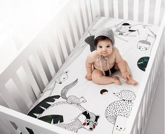 Comotomo Rookie Humans Laken, Woodland Dreams