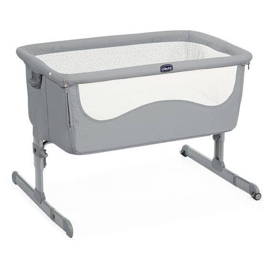 Chicco Next2Me Bedside Crib, Pearl Grey