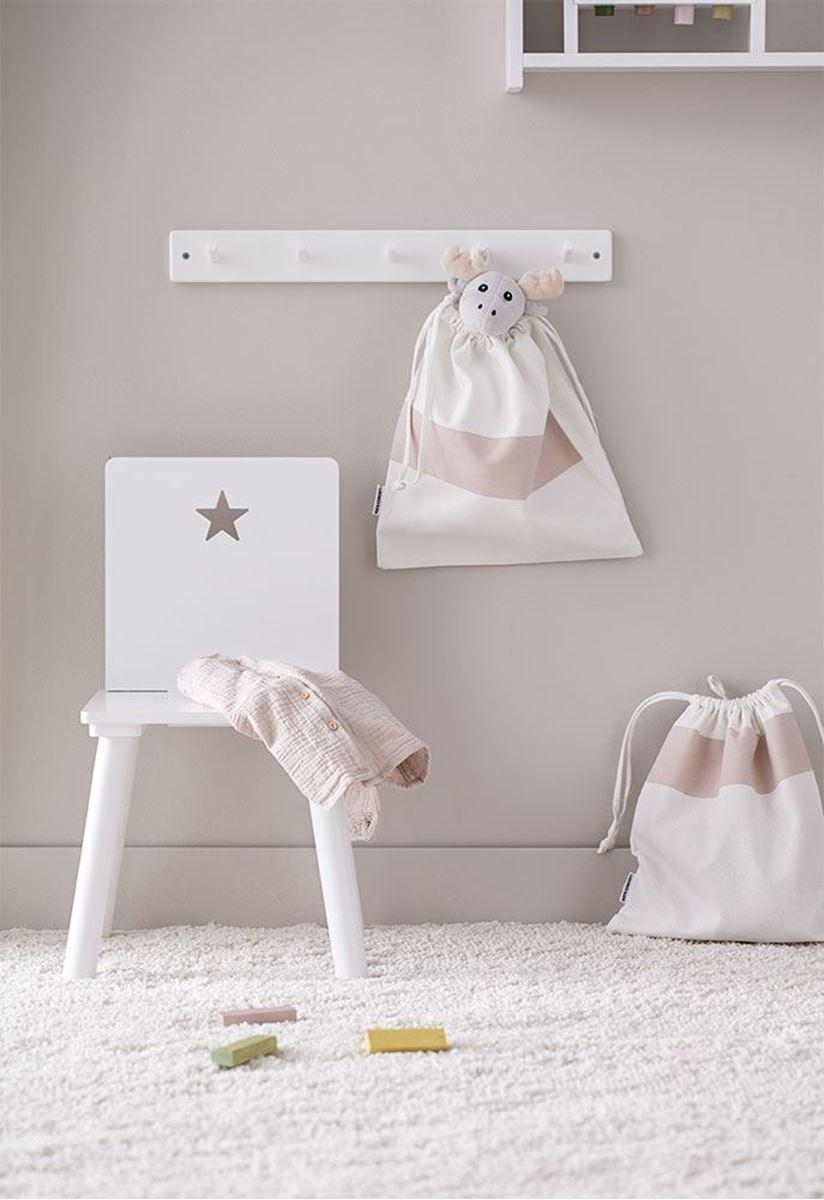 Kids Concept Barnestol, Hvit Star