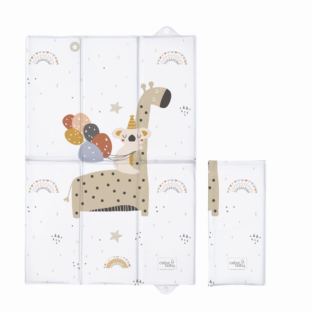 CEBA Stellematte, Foldbar, 60x40cm Giraffe