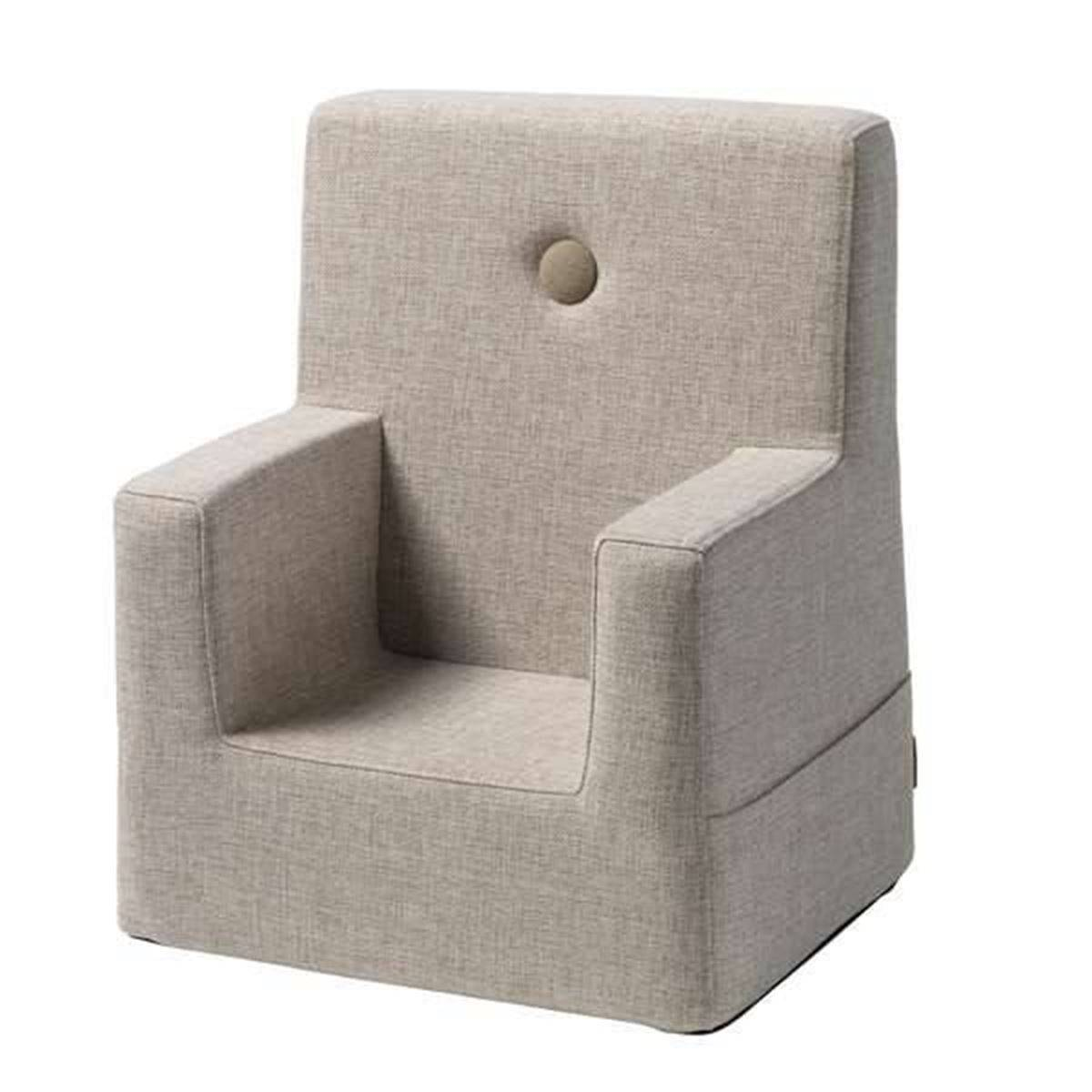 byKlipKlap Kids Chair XL - Beige with sand buttons