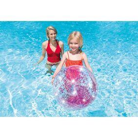 Intex Beachball, Glitter 51cm - Rosa