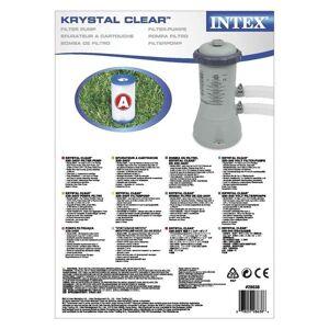 Intex Prism Sandfilter til 4.6m og 4x2m basseng / 1000gal