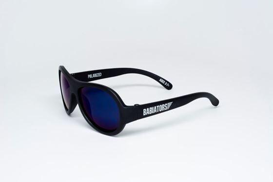 Babiators Solbriller, Black Ops Black - Bltt Polarisert Glass, 0-3 r
