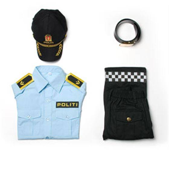 TSI Torsi Norsk Politiuniform, Sett, 4-5 r