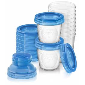 Philips Avent Via Beger 10pk + adapter