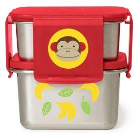 SkipHop Skip Hop Zoo Matboks i Rustfritt stål, Monkey