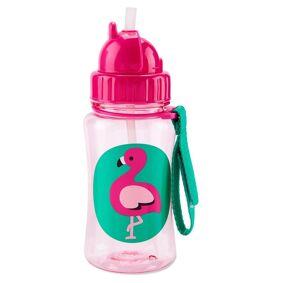 SkipHop Skip Hop Zoo Drikkeflaske Flamingo Straw Bottle