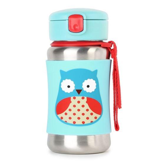 SkipHop Skip Hop Zoo Sportsflaske Stl, Owl