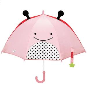 SkipHop Skip Hop Zoobrella Paraply til Barn, Marihne