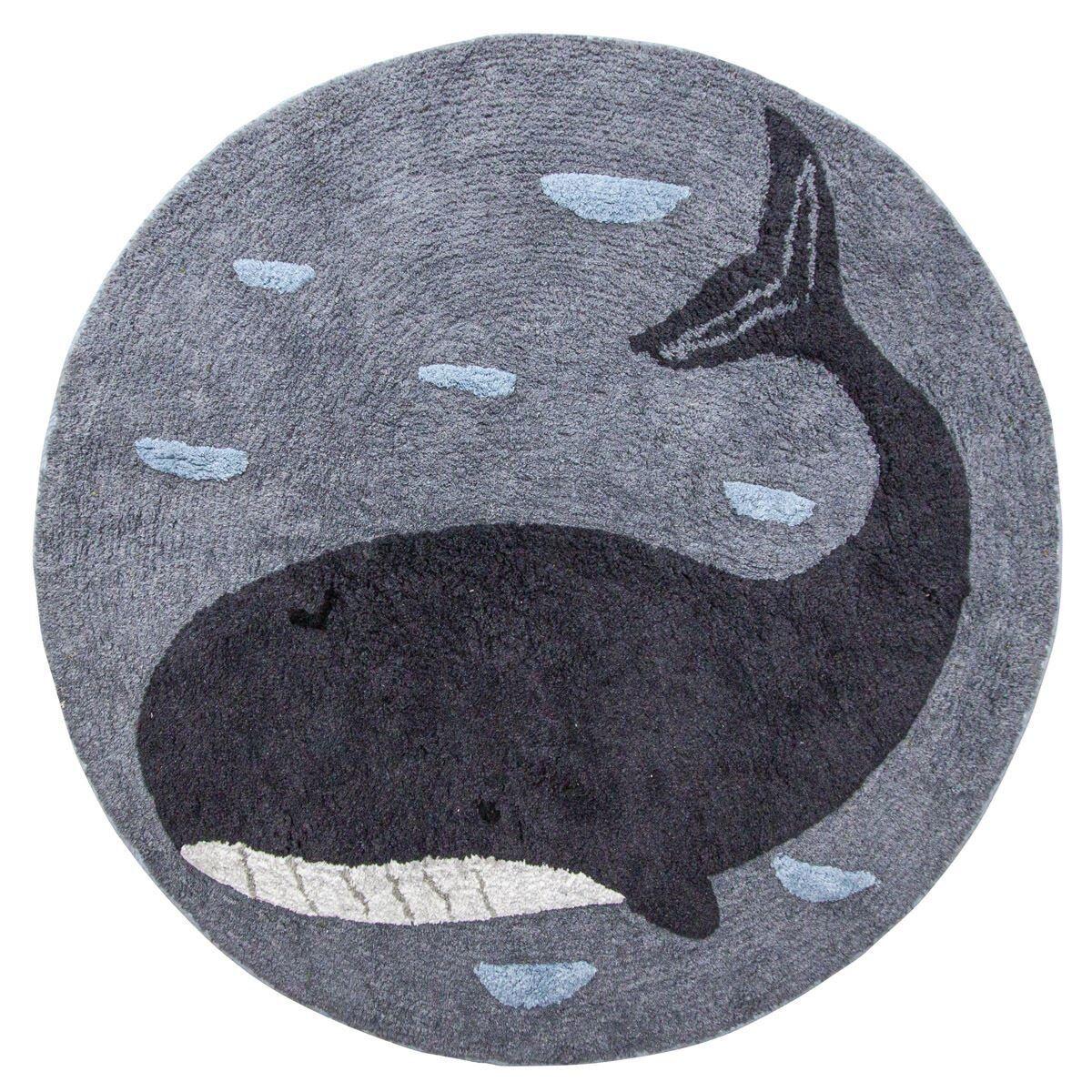 Sebra Vevd gulvteppe, Marion the whale